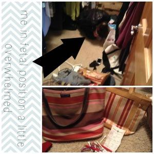 Me in closet Collage